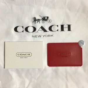 Coach Mirror ( Red ) Cover
